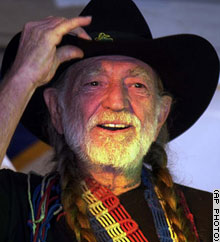 Willie Nelson Arrested for Possession of Marijuana in