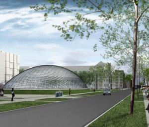 University of Chicago Mansueto Library artist's rendering